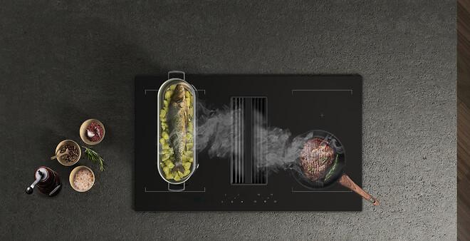 Nyeste emhætte i kogeplade fra Eico