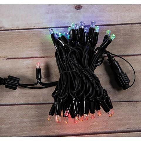 Lyskæde med 50 LED dioder