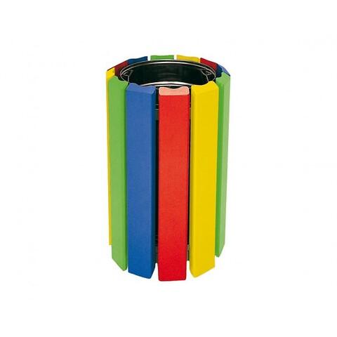 Cologne affaldsbeholder junior flerfarvet