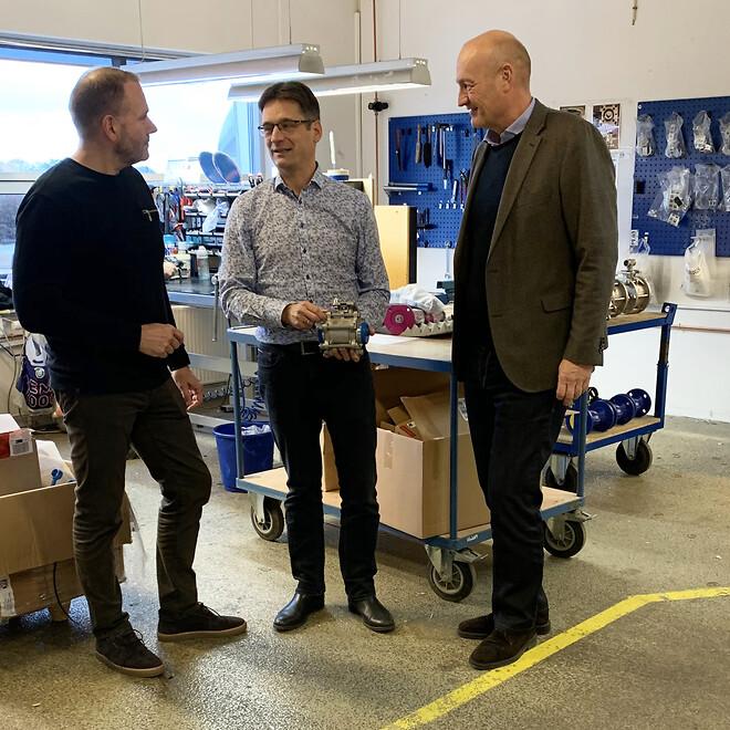 Ledelseskonsolidering mellem Dansk Ventil Center A/S og Armatec A/S