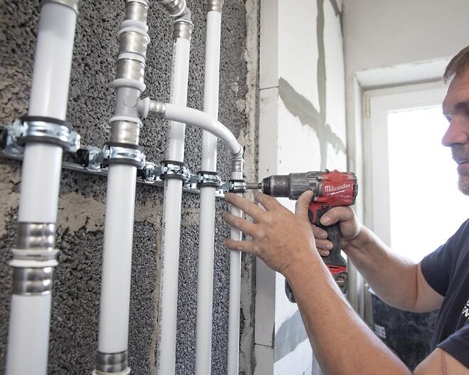 PEX-rør fra Uponor er en af de korrosionsfri løsninger