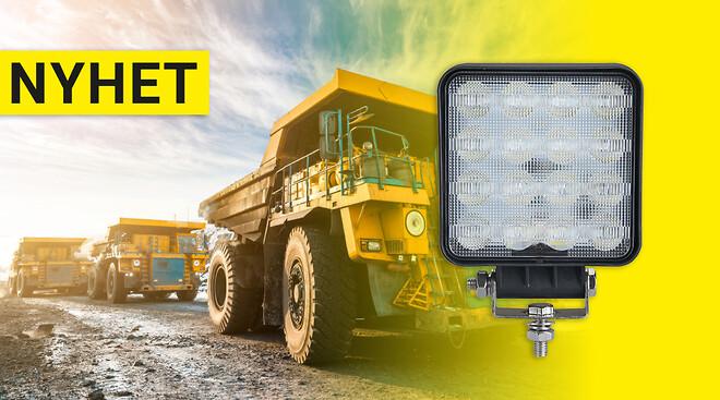 Backlampa som arbetsbelysning på ditt fordon