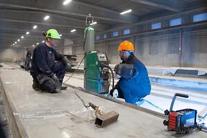 Da stålvirksomheden Langbjerg stod med et akut behov for at optimere svejseprocessen på en stor opgave,
