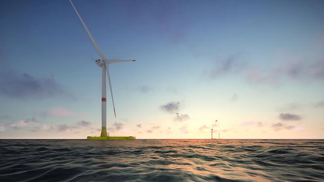 EolMed flydende vindmølleprojekt i Frankrig