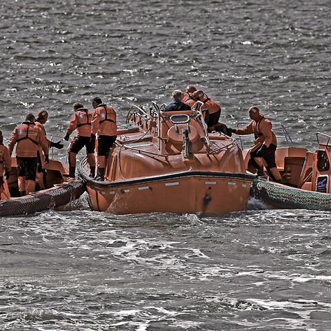 Lifeboat coxswain