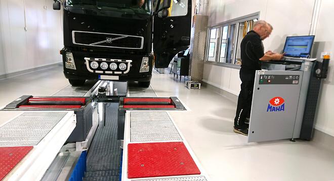 Verkstadsutrustning testanläggning från SUN Maskin & Service AB