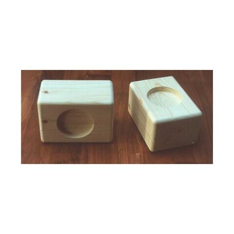 Almindelig sengeklods til forhøjelse af seng/sofa/stol med ben