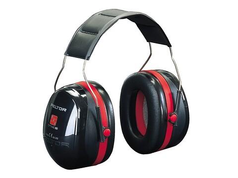 Høreværn peltor optime iii - sort/rød - 3M