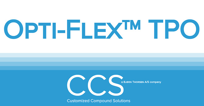 Opti-Flex™ TPO from Customized Compound Solutions is a 100% polyolefin based flexible polymer designed for a more sustainable future.