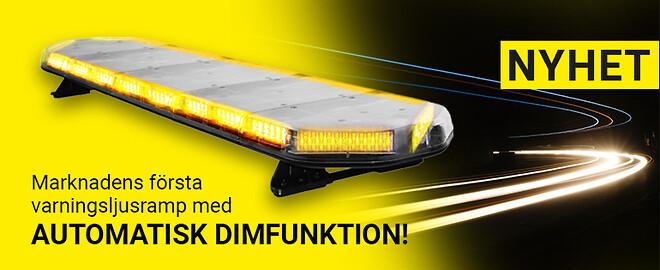 LEGION DIM - varningsljusramp med automatiskt dimfunktion
