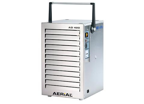 Aerial AD 420: Effektiv bygge- og skadeaffugter - Aerial AD 420 er en kondenstørrer og er velegnede til lukkede rum samt både u- og opvarmede rum.