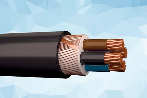 FXQJ PURE 1 kV halogenfri installationskabel