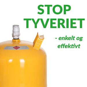 Stop tyveri af gasflasker