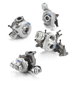 Nytillverkade turbo-aggregat.