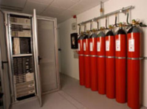 Argonite brandslukningssystem