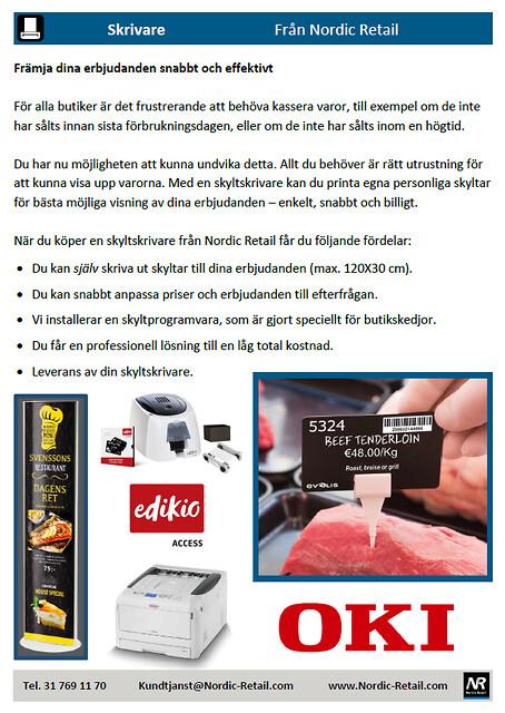 Nordic Retail - Skrivare