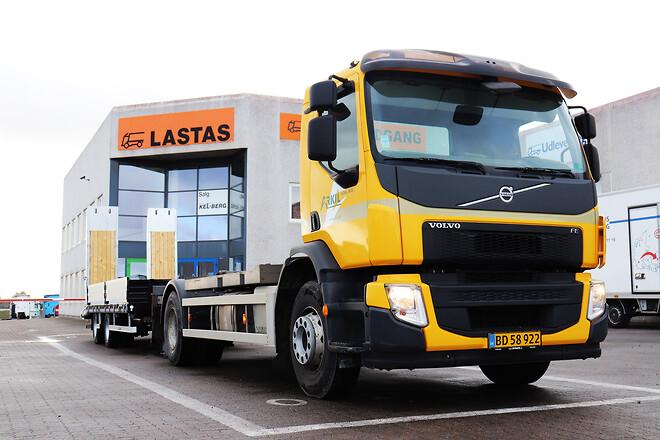 Ny Kel-Berg 2 akslet maskinkærre fra Lastas