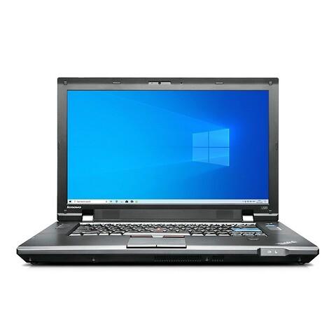 """15"""" lenovo thinkpad L520 - intel i3 2310 2,1GHz 128GB ssd 4GB Win10 pro - grade b - bærbar computer"""