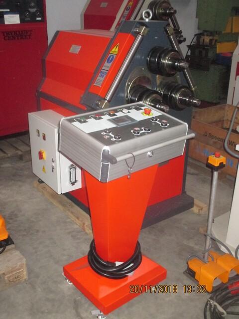 Ny Akyapak profilvalse APK 50 sælges af stålspecialisten