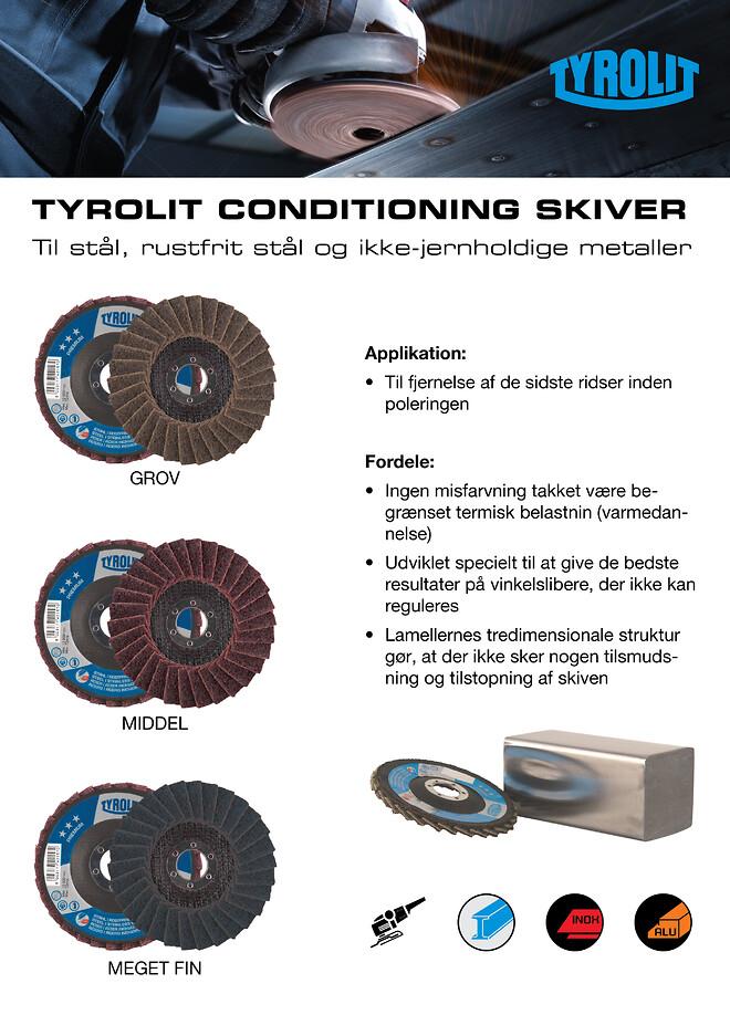 TYROLIT Conditioning skiver