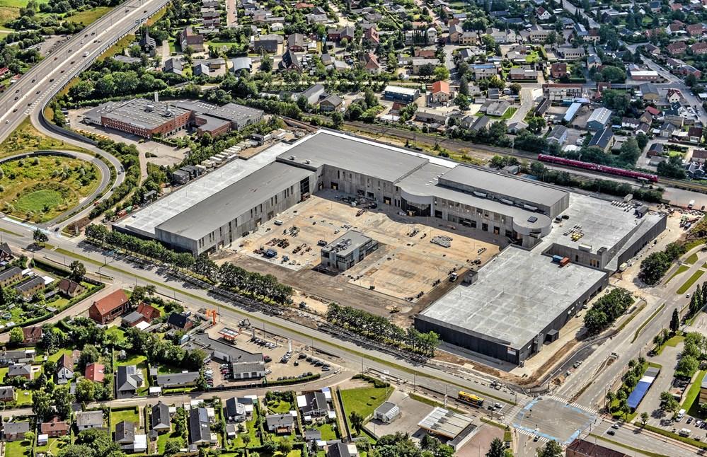 2750189790f Det har taget 17 måneder at opføre BIG Shopping i Herlev ved København.  (Pressefoto)