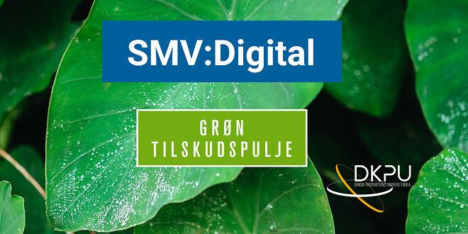 Den grønne tilskudspulje i SMV:Digital er åben og DKPU er klar til at hjælpe mindre produktionsvirksomheder med at skrive ansøgninger.