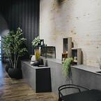Moderne interiør i beton med Contec Coating