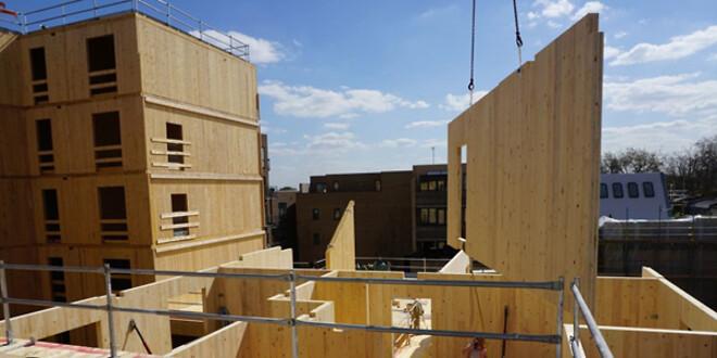 CLT er et af fremtidens byggematerialer