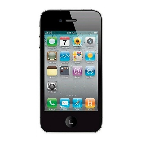 Apple iphone 4 16GB (sort) - grade b - mobiltelefon