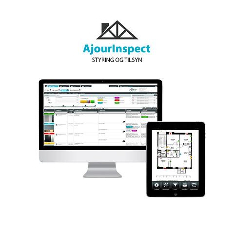 AjourInspect - Byggestyring og fagtilsyn med opfølgning og dokumentation