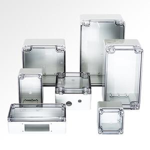 MBX BASIC kapslinger med transparent låg af polykarbonat er specielt designet til industriel anvendelse.