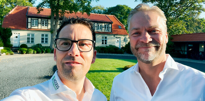IntelligentCARE partnere Henrik Klode & Thomas Ginnerup Kristensen