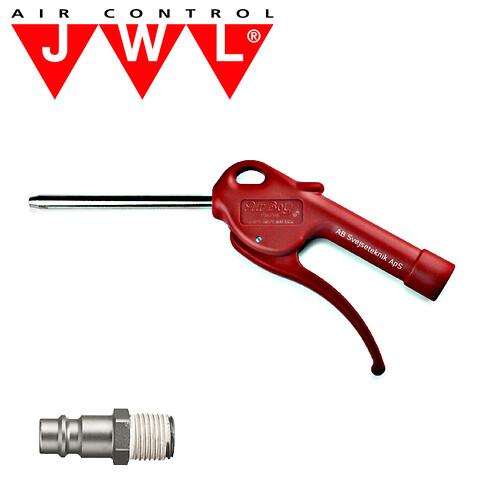 JWL Luft Blæsepistol 6 mm lige rør