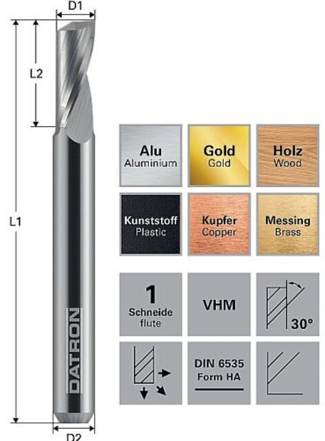 DATRONs fræseværktøj for resultater af meget høj kvalitet.  - Datron Tools\nFræseværktøjer\nSolectro\nmilling drilling \nalu plast \nguld kobber\nkoppar guld \naluminium\ndetaljer \nbearbejdning metal