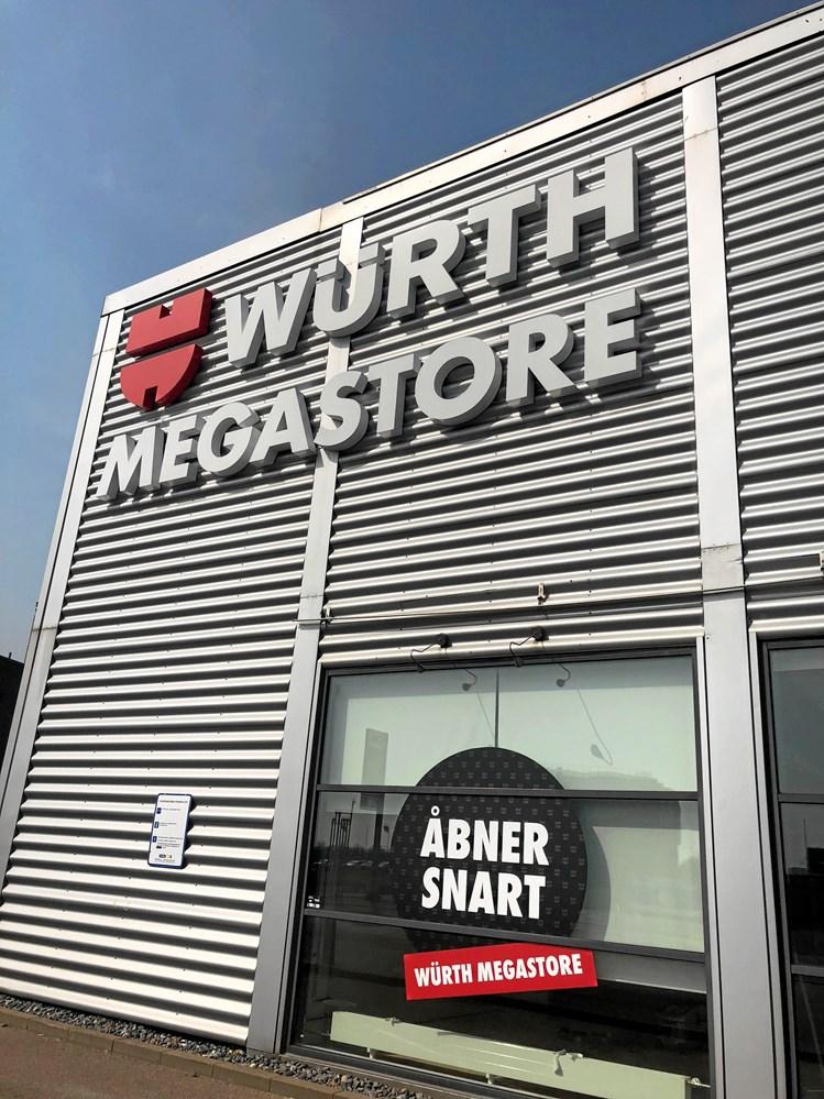 bbbbbe31 Den 28. maj åbner den første Würth Megastore i Sydhavnen. Med den ny butik  har Würth i alt 27 butikker i Danmark, og der er planer om yderligere ...