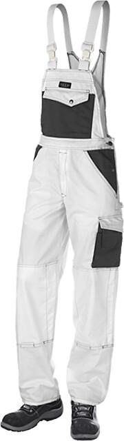 Arbejds overall, 9207 - hvid/grå