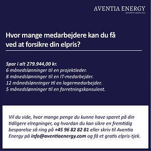 elpris forudsige fremtiden el-aftale virksomhed fastpris spotpris sikre elpris Aventia Energy