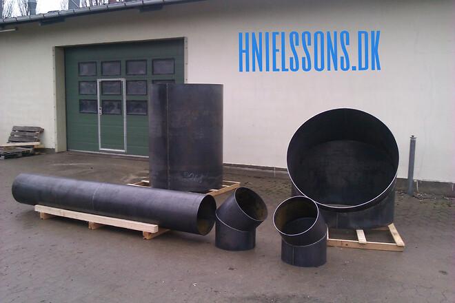 Valsning og kantbukning af stål Sjælland