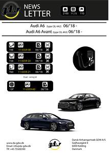 Audi A6 + A6 Avant T60 system fra Dansk anhængertræk GDW