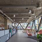 Mennesker, der har det godt, præsterer bedre. Sådan lyder filosofien bag Eminent, som er den første WELL-certificerede kontorbygning i Norden, og som dermed er skabt til at fremme menneskers trivsel. Eminent er også certificeret Miljöbyggnad Guld. Projektet ved Malmö er tegnet af Kanozi Arkitekter
