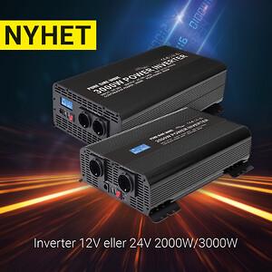 Inverter, HBA, strömförsörjning