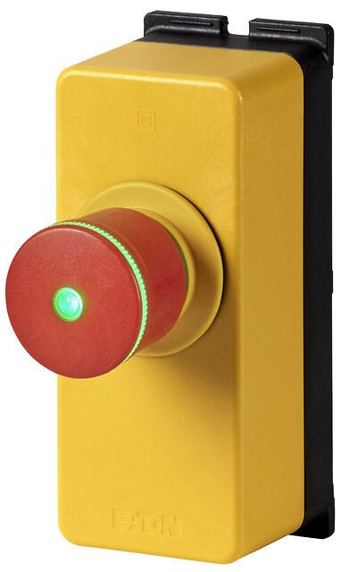 Lille knap, stor indflydelse - gratis webinar om Eatons E-Stop knap