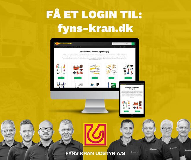Få et login til fyns-kran.dk