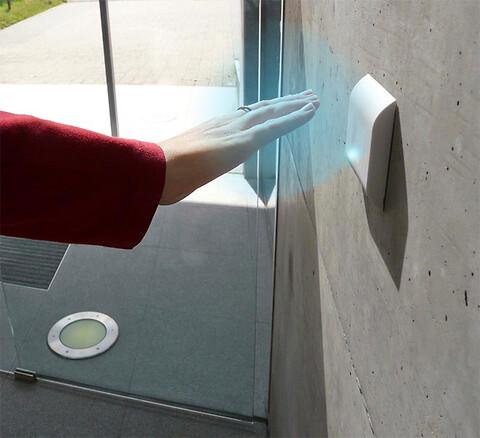 Vink farvel til bakterier - Berøringsfri kontakt, ASSA ABLOY, bakterier, hygiejne