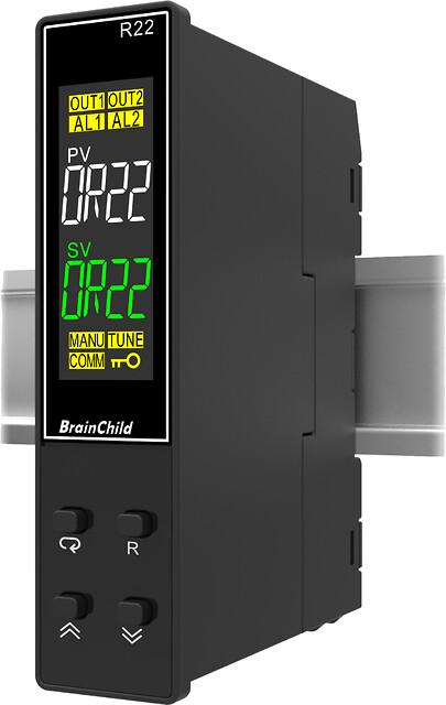 R22 regulator for DIN skinne fra BrainChild - R22 regulator fra brainChild for DIN skinne