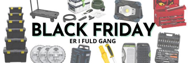 Black Friday tilbud vækrtøj