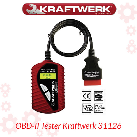 OBD-II Tester Kraftwerk 31126