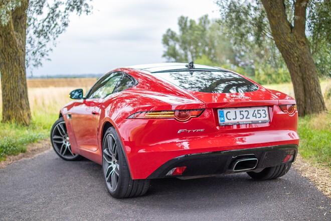 Jaguar F-type testes af biltorvet.dk