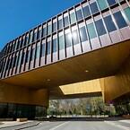 RMIG har fremstillet og leveret de perforerede metalplader til facaden