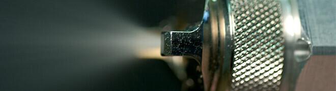Sprutmålnings utrustning